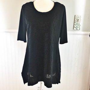 Soft Surroundings | Black Tunic